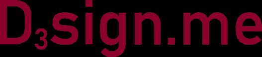 Logo d3sign.me